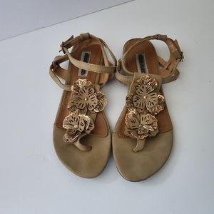 Steve Madden floral sandals size 7
